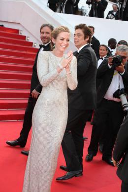 photo 30/39 - Emily Blunt, Benicio Del Toro - Cannes 2015 - Sicario - © Isabelle Vautier pour Commeaucinema.com