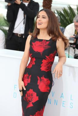 photo 48/53 - Salma Hayek - Photocall Tale of Tales - Tale of Tales - © Isabelle Vautier pour Commeaucinema.com