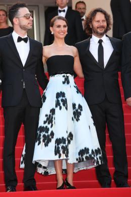 Une Histoire d'Amour et de Ténèbres Gilad Kahana, Natalie Portman, Ram Bergman- Cannes 2015 photo 7 sur 14