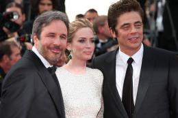 photo 18/39 - Denis Villeneuve, Emily Blunt, Benicio Del Toro - Cannes 2015 - Sicario - © Isabelle Vautier pour Commeaucinema.com
