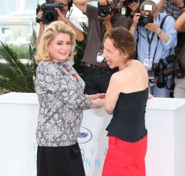 photo 57/107 - La Tête Haute - Cannes 2015 - Emmanuelle Bercot - © Isabelle Vautier pour Commeaucinema.com