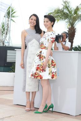 Notre Petite Soeur Masami Nagasawa, Kaho - Cannes 2015 photo 3 sur 14