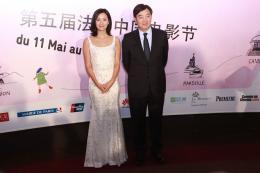 Jinglei Xu 5ème Festival du cinéma chinois en France 2015 photo 2 sur 15