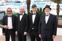 photo 5/5 - Sigurdur Sigurjonsson, Grimu Hakonarson, Theodor Juliusson - Cannes 2015 - Béliers - © Isabelle Vautier pour Commeaucinema.com