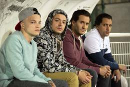 Amis Publics Paul Bartel (II), Kev Adams, John Eledjam, Majid Berhila photo 9 sur 12