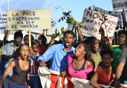 Port-au-Prince, Dimanche 4 Janvier Emmanuel Vilsaint photo 1 sur 3