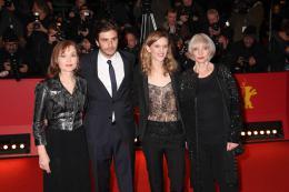L'Avenir Isabelle Huppert, Roman Kolinka, Mia Hansen-Love, Edith Scob - Berlin 2016 Tapis rouge photo 10 sur 40