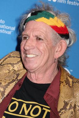 photo 1/13 - Keith Richards - Keith Richards : Under the Influence - © Isabelle Vautier pour CommeAuCinema