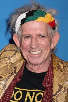 photo 6/13 - Keith Richards - Keith Richards : Under the Influence - © Isabelle Vautier pour CommeAuCinema