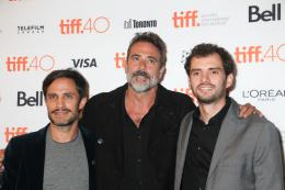 photo 187/215 - Gael Garcia Bernal, Jeffrey Dean Morgan, Jonas Cuaron - Toronto 2015 : Toutes nos photos ! - © Isabelle Vautier pour CommeAuCinema.com