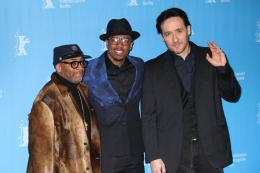 photo 15/16 - Spike Lee, Nick Cannon, John Cusack - Berlin 2016 Photocall - Chi-Raq - © Isabelle Vautier pour @Commeaucinema.com
