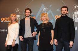 B�reng�re Krief 19�me Festival International du Film de Com�die de l'Alpe d'Huez 2016 photo 4 sur 13