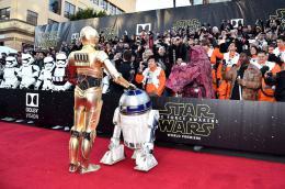 photo 12/64 - Première du film Star Wars - Le Réveil de la Force à Los Angeles - Star Wars VII : la première du film à Los Angeles - © Disney