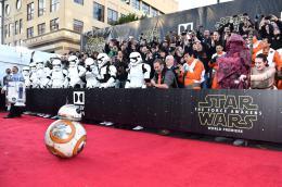 photo 11/64 - Première du film Star Wars - Le Réveil de la Force à Los Angeles - Star Wars VII : la première du film à Los Angeles - © Disney