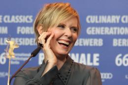 photo 18/24 - Cynthia Nixon - Berlin 2016 Conférence - A Quiet Passion - © Isabelle Vautier pour @Commeaucinema.com