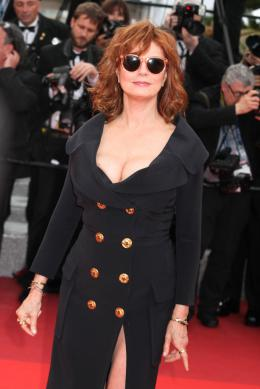 photo 84/125 - Susan Sarandon - Money Monster Tapis rouge - Cannes 2016 : Julia Roberts radieuse pour Money Monster - © Isabelle Vautier pour @Commeaucinema.com