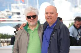 photo 26/50 - Pedro Almodovar, Agustin Almodovar - Photocall Cannes 2016 - Julieta - © Isabelle Vautier pour @CommeAuCinema