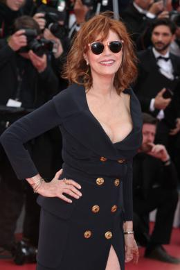 photo 59/125 - Susan Sarandon - Money Monster Tapis rouge - Cannes 2016 : Julia Roberts radieuse pour Money Monster - © Isabelle Vautier pour @Commeaucinema.com