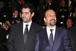 photo 8/26 - Asghar Farhadi, Shahab Hossein - Cannes 2016 Tapis Rouge - Le Client - © Isabelle Vautier pour @CommeAuCinema