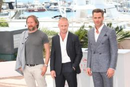 photo 12/12 - David Mackenzie, Ben Foster, Chris Pine - Photocall Cannes 2016 - Comancheria - © Isabelle Vautier pour @CommeAuCinema