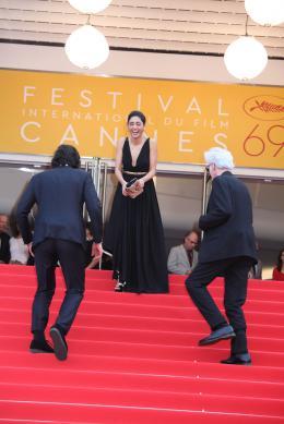 photo 31/52 - Golshifteh Farahani - Tapis rouge Cannes 2016 - Paterson - © Isabelle Vautier pour @CommeAuCinema