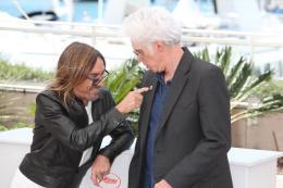 photo 20/24 - Iggy Pop, Jim Jarmusch - Photocall Cannes 2016 - Gimme Danger - © Isabelle Vautier pour @CommeAuCinema