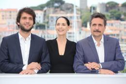 photo 13/32 - Humberto Carrao, Sonia Braga, Kleber Mendonca Filho- Photocall Cannes 2016 - Aquarius - © Isabelle Vautier pour @CommeAuCinema