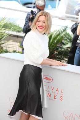 photo 34/44 - Léa Seydoux - Photocall Cannes 2016 - Juste la Fin du Monde - © Isabelle Vautier pour @CommeAuCinema