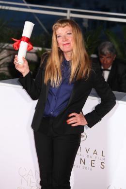 Andrea Arnold Cannes 2016 - Photocall des Lauréats photo 4 sur 23