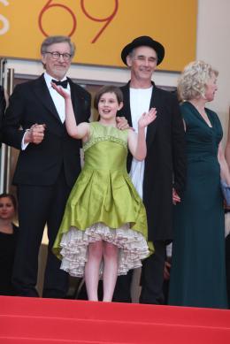 Ruby Barnhill Le BGG (Le Bon Gros Géant) - Festival de Cannes 2016 photo 7 sur 17