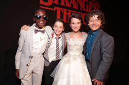 Caleb McLaughlin Stranger Things - Avant-premi�re photo 1 sur 12