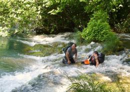 En amont du fleuve Olivier Gourmet, Sergi Lopez photo 1 sur 7