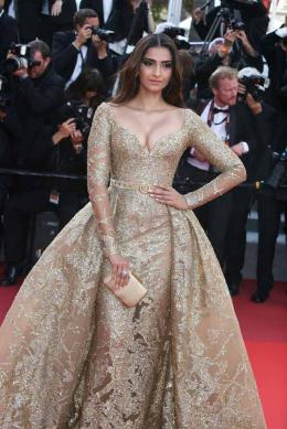 Sonam Kapoor Cannes 2017 - The Killing of a sacred deer Tapis photo 3 sur 5