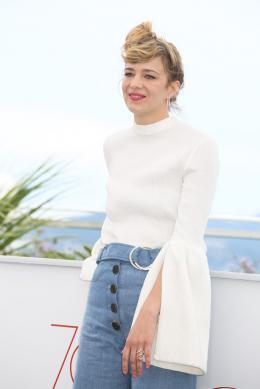 Céline Sallette Cannes 2017 - Photocall Nos années folles photo 9 sur 110