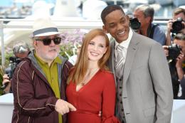 photo 14/65 - Photocall Jury Cannes 2017 : Jessica Chastain et Will Smith complices sur le tapis rouge - © Isabelle Vautier pour CommeAuCinema.com