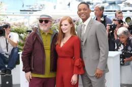 photo 12/65 - Photocall Jury Cannes 2017 : Jessica Chastain et Will Smith complices sur le tapis rouge - © Isabelle Vautier pour CommeAuCinema.com