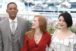 photo 2/65 - Photocall Jury Cannes 2017 : Jessica Chastain et Will Smith complices sur le tapis rouge - © Isabelle Vautier pour CommeAuCinema.com