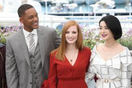 photo 59/65 - Photocall Jury Cannes 2017 : Jessica Chastain et Will Smith complices sur le tapis rouge - © Isabelle Vautier pour CommeAuCinema.com