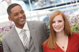 photo 30/65 - Photocall Jury Cannes 2017 : Jessica Chastain et Will Smith complices sur le tapis rouge - © Isabelle Vautier pour CommeAuCinema.com
