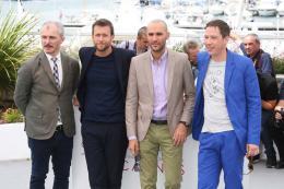 photo 10/17 - Reda Kateb, Mohamed Diab, Karel Och et Joachim Lafosse - Photocall Cannes 2017 : Le Jury Un Certain Regard est sur le tapis rouge - © Isabelle Vautier pour CommeAuCinema.com