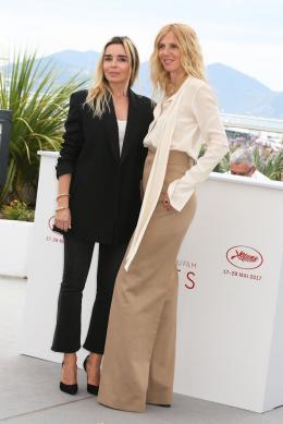 photo 11/12 - Sandrine Kiberlain et Elodie Bouchez - Photocall Cannes 2017 : Le Jury de la Caméra d'Or est arrivé  - © Isabelle Vautier pour CommeAuCinema.com