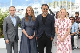 Mary Parent Cannes 2017 - Photocall Carne y arena photo 1 sur 1