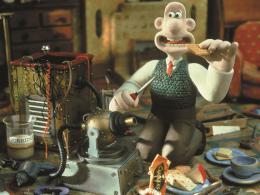 photo 4/12 - Rasé de près - Wallace & Gromit : coeurs à modeler - © Folimage
