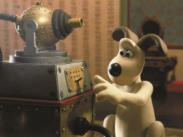 photo 9/12 - Rasé de près - Wallace & Gromit : coeurs à modeler - © Folimage