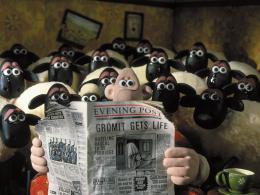 photo 10/12 - Rasé de près - Wallace & Gromit : coeurs à modeler - © Folimage