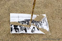 Serge Pey et la boîte aux lettres du cimetière photo 3 sur 4