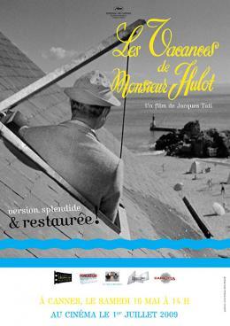 Les Vacances De Monsieur Hulot Affiche pour la reprise en salles photo 7 sur 8