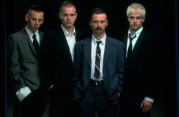 photo 3/5 - Ewen Bremner, Ewan McGregor, Robert Carlyle, Jonny Lee Miller - Trainspotting - © Universal Pictures Vidéo