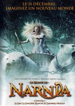 photo 17/61 - Affiche préventive française - Le Monde de Narnia - Chapitre 1 : Le Lion, la Sorcière Blanche et l'Armoire Magique
