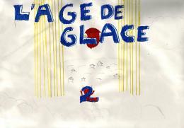 photo 38/43 - Dessin d'un élève de CM1a, école Littré de Paris 6ème) - L'âge de glace 2 - © Commeaucinema.com 2006